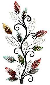Decorative Metal Wall Art Amazon Com Home Source 400 21890 Decorative Metal Wall Art Vase