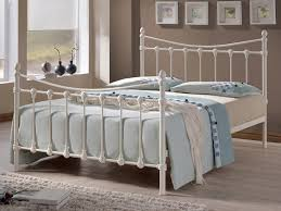 4ft bed living 4ft florida small double ivory metal bed frame