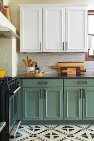 can you use chalk paint on melamine kitchen cabinets chalk paint kitchen cabinets 2 amazing before afters and