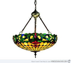 Small Glass Chandeliers Amazing Stained Glass Chandelier 84 Small Home Decoration Ideas