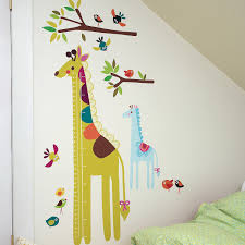wallies wall play giraffe growth chart vinyl peel and stick wallies wall play giraffe growth chart vinyl peel and stick decor walmart com