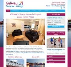 website design and logo design for property sector in ireland