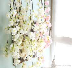 distributors of discount cherry blossom garland wholesale 2017