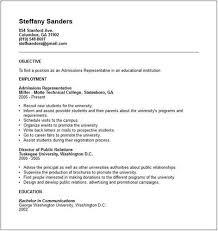 sle resume for college admissions representative training admission representative resume sales representative lewesmr