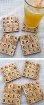 Do It Yourself Home Decorating Ideas On A Budget by Scrabble Coaster Buzzfeed Scrabble Coasters And Scrabble