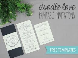 printable wedding invitation templates free download