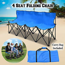 Portable Sports Bench Folding Sports Bench Portable 6 Seater Sideline Outdoor Seat Team