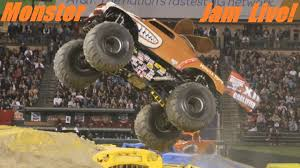 monster truck jam videos youtube watching monster jam live awesome monster jam trucks youtube