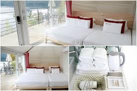 canap駸 de luxe 飯店 韓國清平湖畔的 camptong island