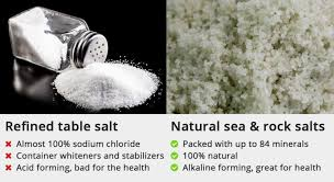 sea salt and table salt healthy alternative salts to sodium natural packed with minerals