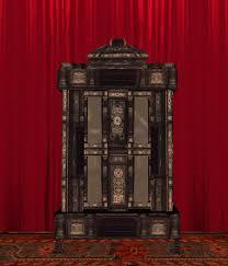 second life marketplace antique victorian bookcase