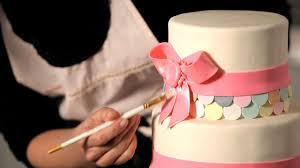how to make a ribbon bow for wedding cake wedding decor