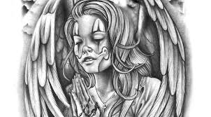 chicano angel tattoo designs chicano free download tattoo design