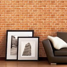 decorative vintage wall wallpaper wallcovering rustic brick edem