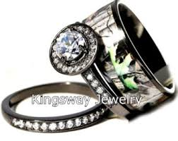 camo wedding ring camo engagement ring etsy