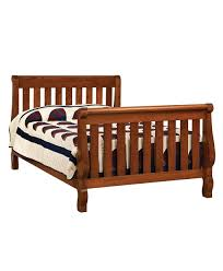Convert Crib To Bed Hoosier Sleigh Conversion Crib Amish Direct Furniture