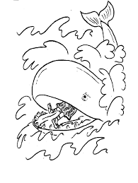 jonah coloring page jonah and the whale in bible coloring pages