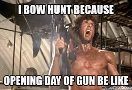 Bow Hunting Memes - image gif w 500 c 1