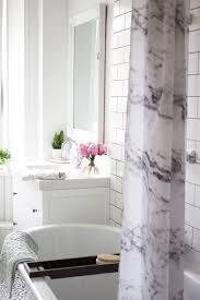 How To Remodel A Small Bathroom Before And After A Bathroom Makeover The Details Kate La Vie