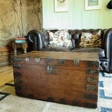 Rustic Chest Coffee Table Victorian Carriage Trunk Rustic Chest Antique Dome Trunk Old