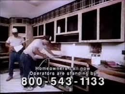 Sears Cabinet Refacing 1991 Sears Cabinet Refacing System Commercial Youtube