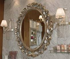 Decorative Bathroom Wall Mirrors Bathroom Grey White Bathroom