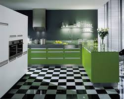 Modern Green Kitchen Cabinets Kitchen Modern Kitchen Design With Green Kitchen Cabinet And