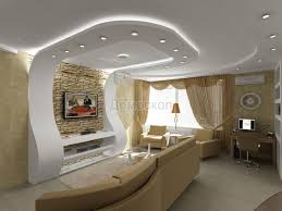Ceiling For Living Room by 3d Wall To Ceiling With Recessed Lighting 15 Striking Gypsum Board