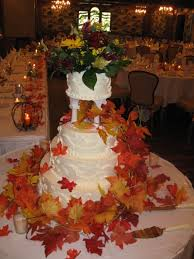 Fall Cake Decorations Orangey Fall Wedding Decorations Margusriga Baby Party