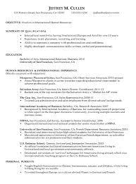 chronological sample resume download sample of a chronological