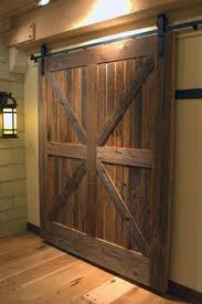 Barn Door Design Ideas Steves U0026 Sons 24 In X 84 In Rustic 2 Panel Stained Knotty Alder