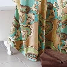 Paisley Shower Curtains Paisley Shower Curtain