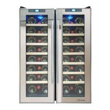 Wine Cabinet With Cooler by Vinotemp Wine Coolers Wine Beverage U0026 Keg Coolers The Home