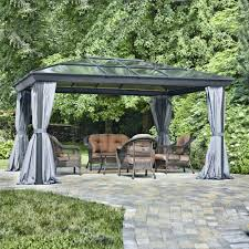 small gazebo canopy cheap flooring ideas backyard 5259 interior