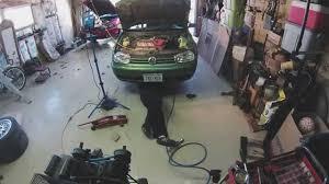 a volkswagen transmission removal u2014timelapse youtube