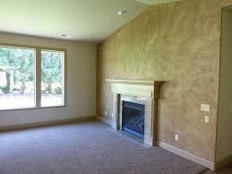 texture paint on wall in living room home combo