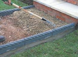 How To Make A Pea Gravel Patio How To Lay Paving Blocks Gravel U0026 Asphalt Help U0026 Ideas Diy At B U0026q