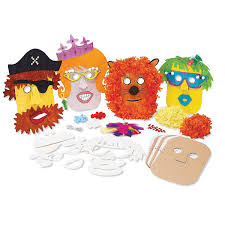 Halloween Craft Kits For Kids by Amazon Com Mindware Make Your Own Mask Kit Creative Arts And