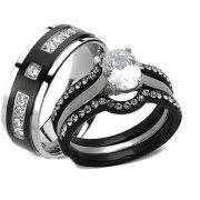 cheap matching wedding bands anniversary rings walmart