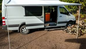 Rv Retractable Awning Adding An Awning To A Sprinter With A Roof Rack U2013 Sprinter