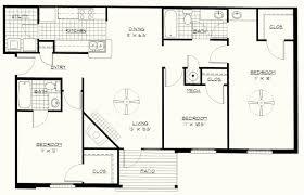 Interior Floor Plans Delightful 3 Bedroom Floor Plans Interior Design 3 Bedroom Flat