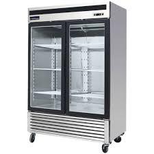 refrigerators with glass doors f 49r g double glass door refrigerator