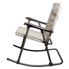Aluminum Folding Rocker Lawn Chair by Folding Rocking Chair In A Bag October 2017