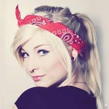 how to wear a bandana with short hair how to style a shaved head after surgery beautyeditor
