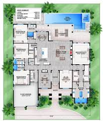 house plans with 3 master suites plan 86029bw florida house plan with stunning master suite