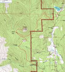 Topographical Map Of New Mexico by Topographic Map Of The Estes Cone Trail Rocky Mountain National