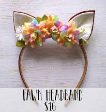 fawn headband new headbands in the shop motherhood craftiness other lovely