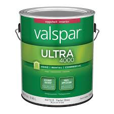 shop valspar ultra 4000 eggshell latex interior paint actual net