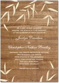 wooden wedding invitations willowy wood wedding invitations invitation crush