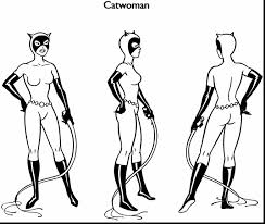 catwoman coloring pages alphabrainsz net